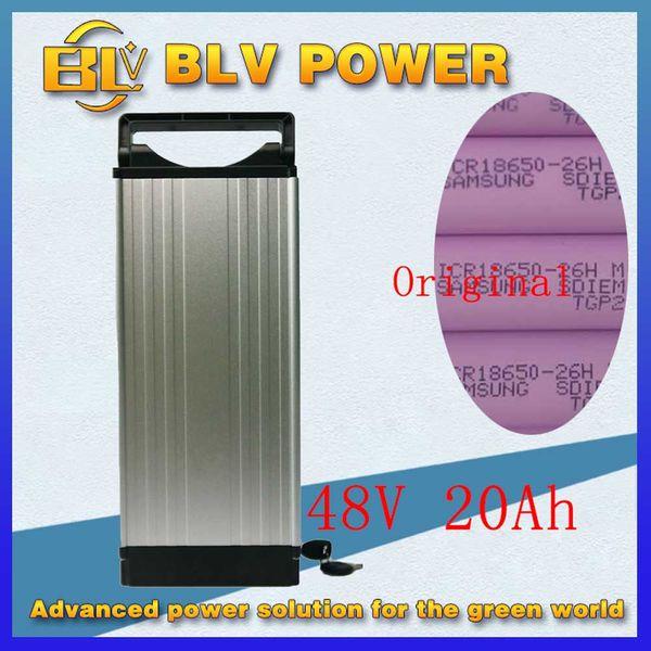 48V 1000W batteria per bici elettrica Batteria al litio ebike / bagaglio 48V 20Ah con BMS, caricabatterie 54.6V 2A uso batteria sam --- sung 26HM al litio