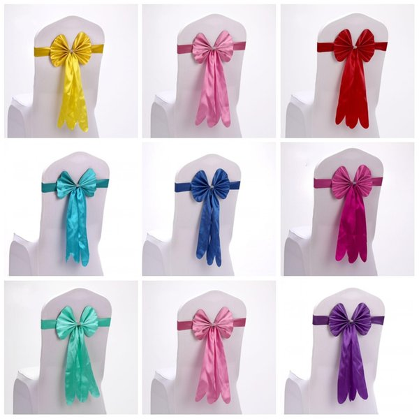 Chair Covers Sashes Band Top Quality Free Chair Sash Ribbon For Wedding Events And Party Decoration Tie Bands 2 59sk R