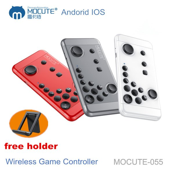 Original MOCUTE 055 GamePad Handheld Joystick Console wireless Bluetooth Controller Remote Control Game pad for IOS Android Phone Tablet PC