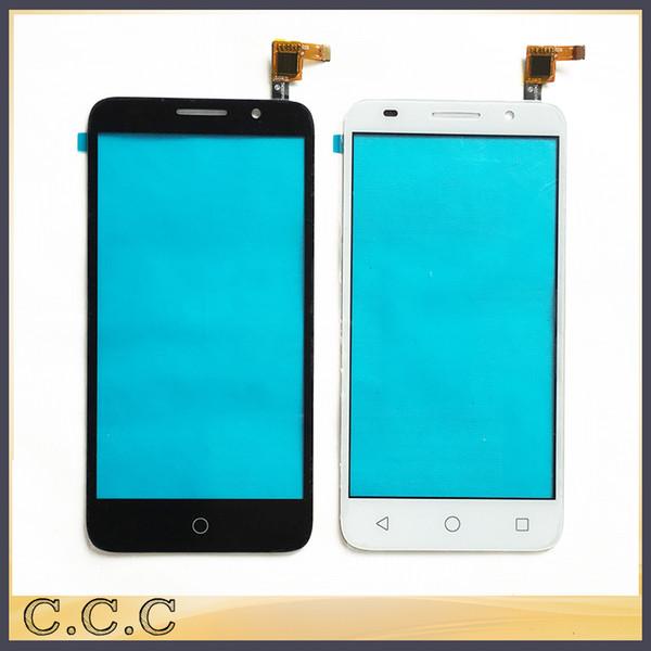 Wholesale- Front Glass Lens Digitizer Touchscreen For Alcatel One Touch Pixi 3 OT5065 5065 5065A 5065D 5065X Touch Screen Panel Sensor