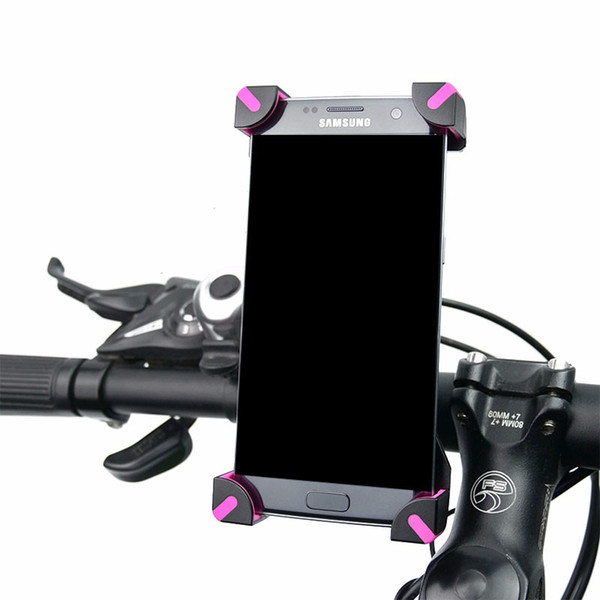 New Arrival Universal Mobile Bicycle Phone Holder For iPhone Xiaomi Samsung LG Adjustable Bike Handlebar Clip of Del base Mount Bracket