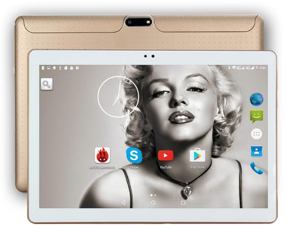 Vente en gros - DHL livraison gratuite Android Tablet PC 10 pouces Dual SIM 3G WCDMA 4G LTE Tablet enfant 10.1 4 Go de RAM 32 Go de ROM Support Play Store