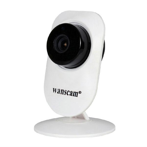 Wanscam HW0026 Rete WiFi Telecamera IP Wide Angle 720P HD Wireless Sorveglianza di sicurezza Due vie Audio Talk Night Vision TF Slot per scheda SD