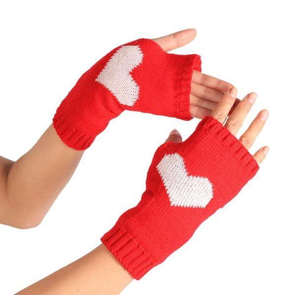 Wholesale-SIF Winter Handgelenk Arm Handwärmer gestrickte lange fingerlose Handschuhe Fäustling