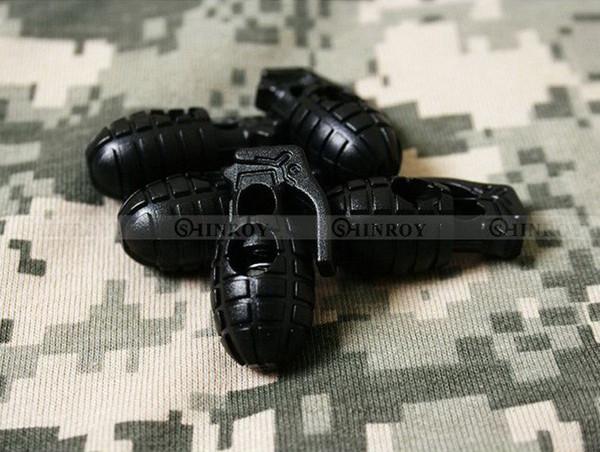 10 Pcs / Lot EDC Gear Tactique En Plein Air Randonnée Bottes Chaussures Grenade Lacet Resserrement Non-Slip Boucle Boucle Boucle Clip