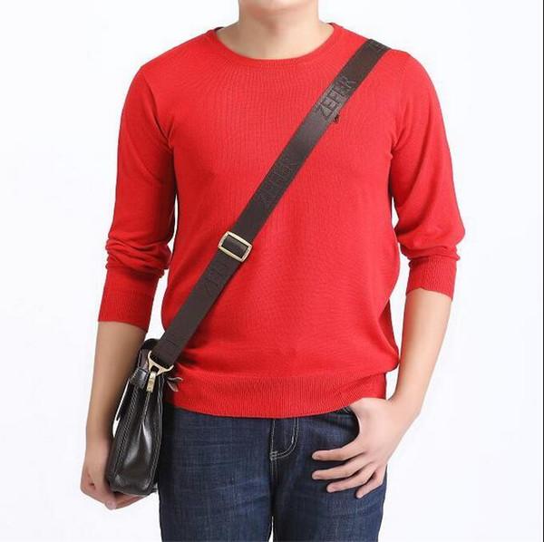 2016 новый стиль мода Марка одежда мужчины свитер вязать свитер платье импортированные-одежда