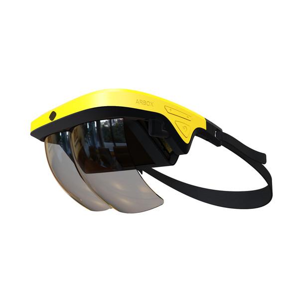 Toptan sanal gerçeklik kutusu ucuz karton vr gözlük hologram gözlük artırılmış gerçeklik AR videolar ve oyunlar için gözlük