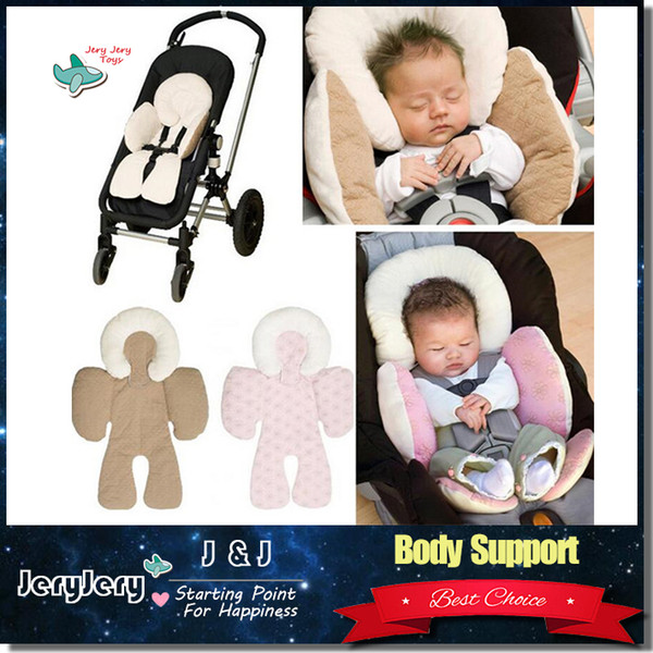 JJ COLE Reversible Baby Body Support Compliance Warm Use In Car Seat Stroller Cushions