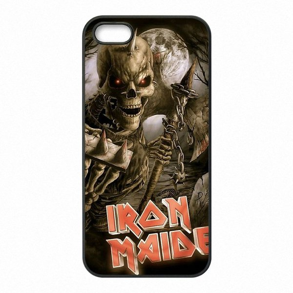 Classic rock band Iron Maiden Phone Covers Shells Hard Plastic Cases for iPhone 4 4S 5 5S SE 5C 6 6S 7 Plus ipod touch 4 5 6