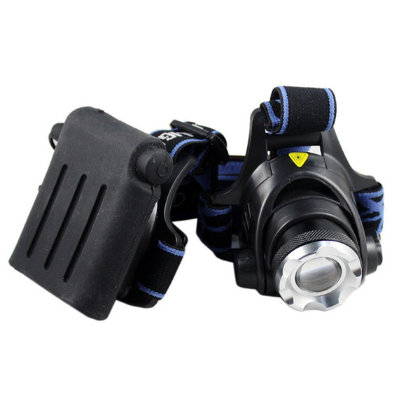 AdjustableT6 Zoomable LED Headlight XM-L XML 2000LM Headlamp Hiking Waterproof Camping Head Lights Fishing Bicycle