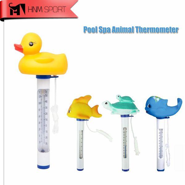 Vente en gros - Thermomètre flottant pour animaux mignons et thermomètre de piscine résistant à l'éclatement pour toutes les piscines intérieures en plein air / Spas / Hot Tubs / Aquariums