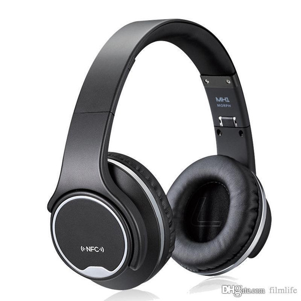 MH1 Bluetooth Headphone SODO On-Ear with NFC Twist-out 2in1 Speaker With FM Radio /AUX/TF Card MP3 Sports Magic Headband Wireless Headset