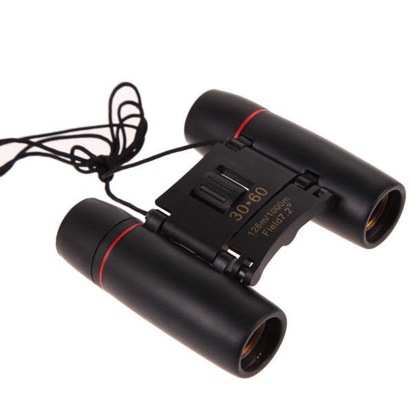 Day Night Vision 30 x 60 Zoom Travel Folding Binoculars Telescope+Case Binoculars Night Vision Telescope Night Vision Folding