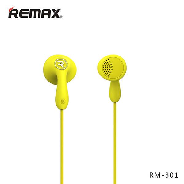 Remax RM-301 HIFI Stereo Headset mit Mikrofon In-Line-Steuerung Noise Cancelling Kopfhörer High Performance für MP3-Player
