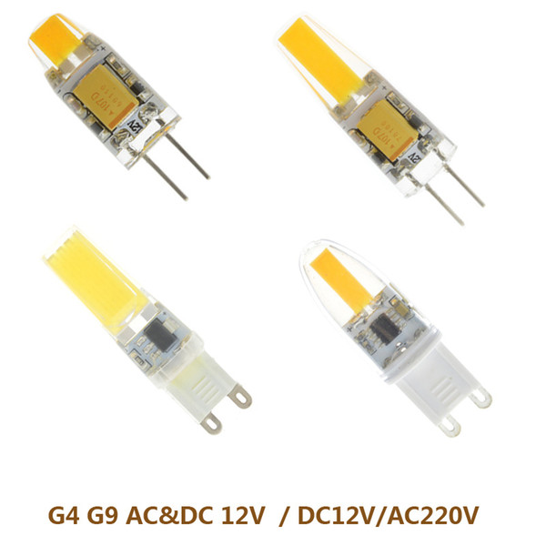 1XMini G4 Led Lamp 3/5/6/7W Dimmable COB Light DC/AC 12V 220V 360 Beam Lighting For Chandelier Lights Replace Halogen G9 Lamps