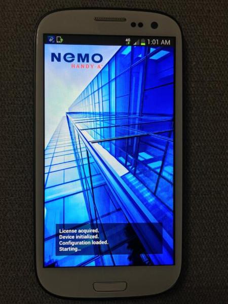 S3 I9305 nemo handy 2.0 2.4 2.7, versione 2.8 portatile, supporta FDD lte cat 3 testing
