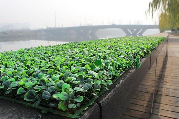 25X25 cm Grama Artificial de plástico buxo mat topiaria árvore de Grama de Milão para o jardim de decoração para casa de casamento Plantas Verdes artificiais