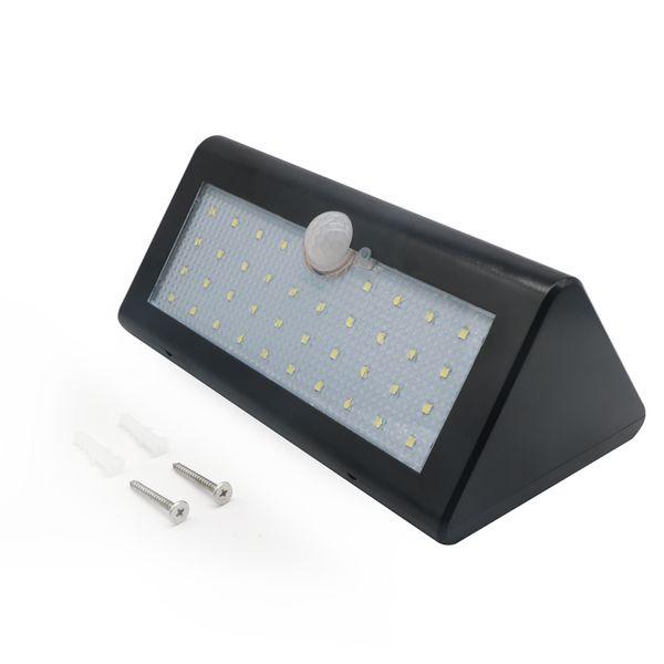 Edison2011 PIR Solarbetriebene Outdoor-motion Sensor Sicherheit 38 LED-Licht IP65 Wasserdicht Heatproof Garten Wand Beleuchtung Lampe (Schwarz)