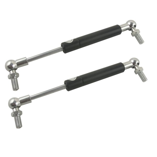 2pcs M8 Threaded Ball Joint Auto Gas Spring Damper Lift Strut Prop Shock For Furniture Car Hole Pitch 400mm 440mm 450mm 460mm 480mm