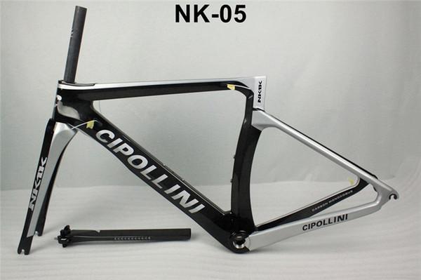 NK1K cipollini frame carbon road bike frames 2016 racing bicycle frame carbon fiber bike frame, fork, seatpost, headset, clamp