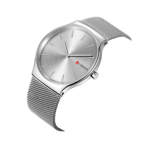 CURREN 2018 new black rose gold Pointer relogio masculino Luxury Clastic Analog sports Wristwatch Quartz Business Watch Men 8256