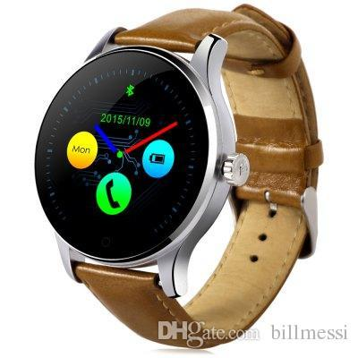 Original K88H Bluetooth Smart Montres MTK2502 Moniteur de fréquence cardiaque Portable Santé Horloge Horloge Pour Android Phone iOS Iphone Regarder Hot + NB