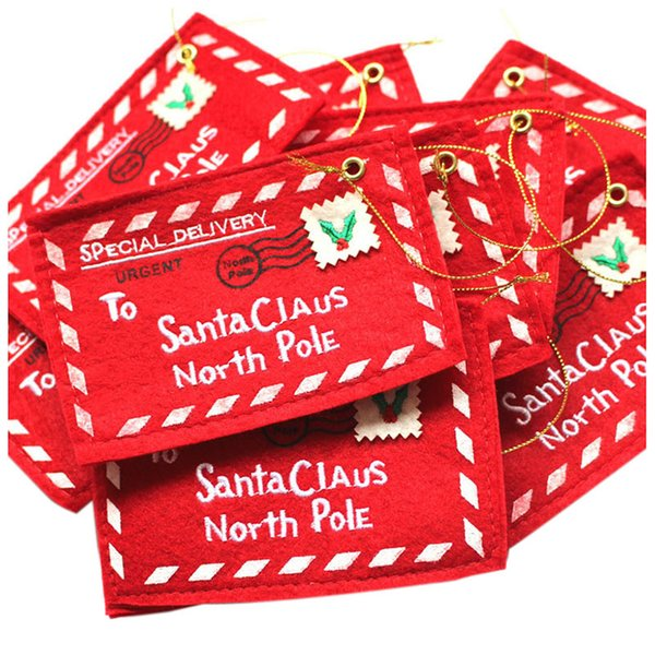 Christmas Home Decoration Envelope Christmas Cards Mini Gift Candy Bags Decorations