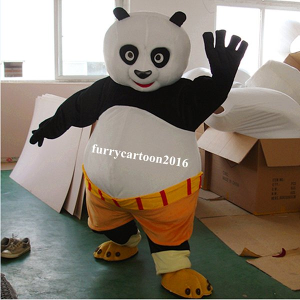 fast shipping Mascot Costume Kung Fu Panda Cartoon Character Costume Adult Size Wholesale and retail free  sc 1 st  DHgate.com & Fast Shipping Mascot Costume Kung Fu Panda Cartoon Character Costume ...