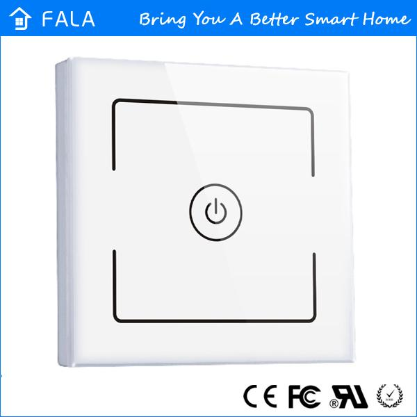 1 2 3 gang smart light switch of fala home automation system mobile remote controlled smart home light switch 2g 3g 4g wifi control