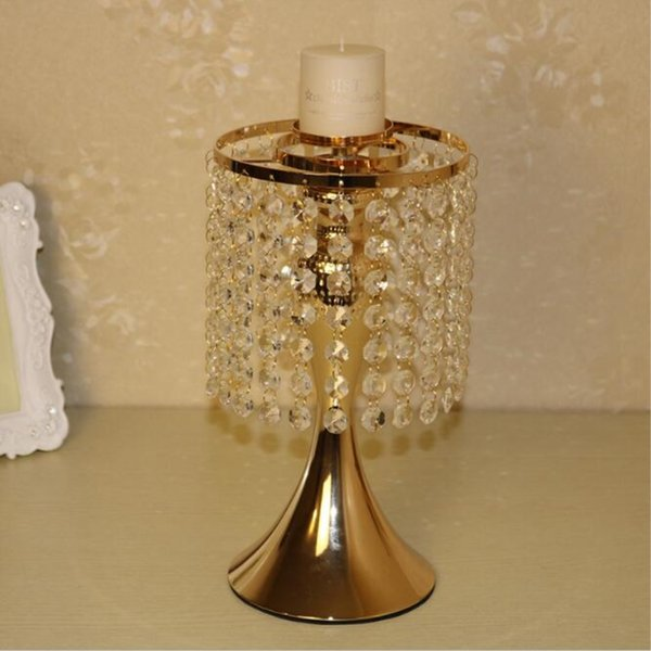 New design classic candle holder with crystals wedding event or party candle stand home decor candlesticks 1 lot =2 pcs
