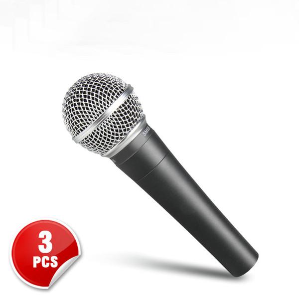 Satıcı Resell için en Kaliteli 3 ADET-Gerçek Trafo SM 58 58LC SM58LC El Kablolu Mikrofon Karaoke Mikrofon Ücretsiz kargo