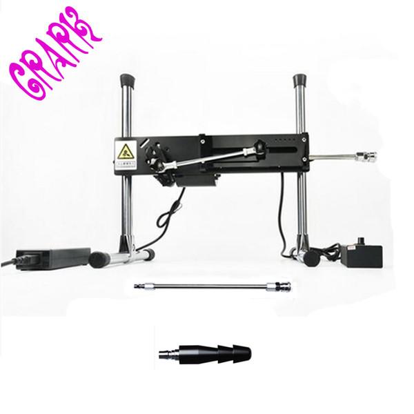 Premium Sex Machine+Extension Rod +Single Vac-u-Lock,erotic sex tools toys for women,Turbo Gear Power 120w,Sex Product