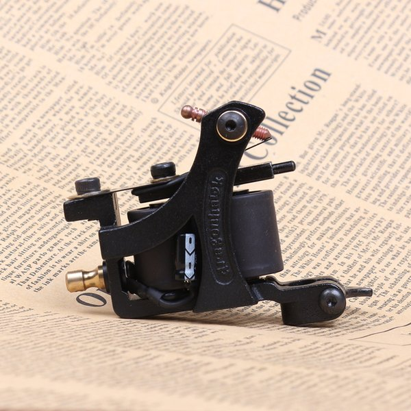 New style tattoo shader gun cast iron machine alloy frame black color best selling factory price WQ4451