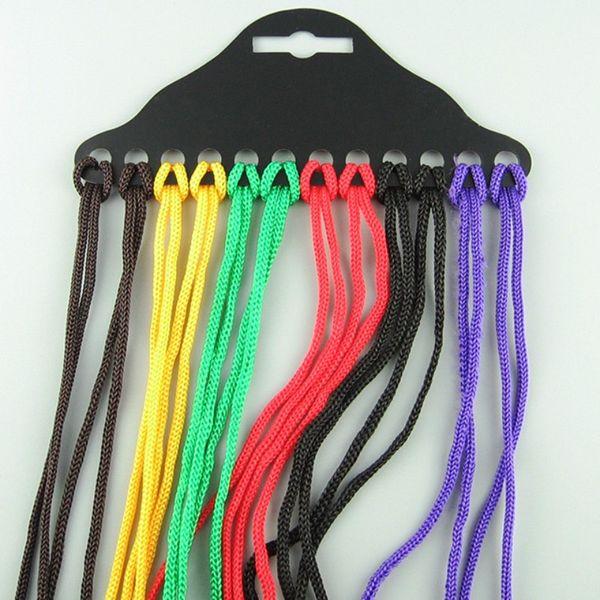 top popular Nylon Sunglasses Chain And Elastic Kids Glasses Rope Neck Cord Strap Glasses String Lanyard Adjustable 2021