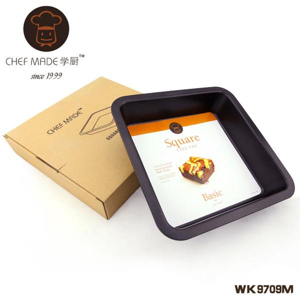 Großhandel- Hohe Qualität WK9709M Mchefmade Ofen mit nonstick 8-Zoll-Quadrat-Kuchenform Brot Pizza Backform Küchenwerkzeuge