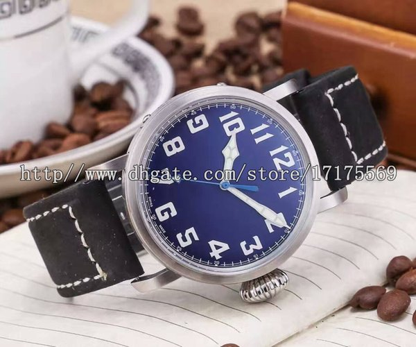 Business distinguished luxury fashion high-grade precision imported top automatic calendar large dial luminous waterproof belt men's Watch