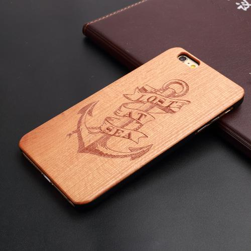 U&I ®Ultra-slim Thin Cover pratical premium elegant cell phone shell Protective Skin wood phone case for sales