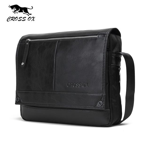 Venda por atacado- CROSS OX 2016 Outono Nova Chegada dos homens Messenger Bags Para Homens Cross Body Bag Saco dos homens Sacos de Ombro Business Casual SL383M
