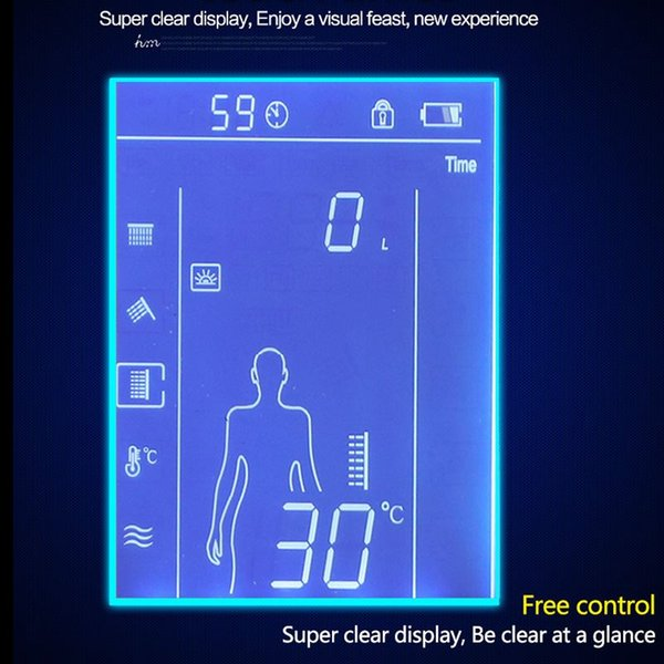 hm Digital Valve Shower Controller 3 Ways LED Touch Screen Control Thermostat Display LCD Smart Power Outlet is Compatible 20170805#