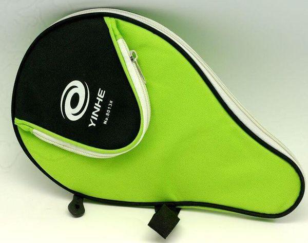 GOOD- 2PCS Yinhe Racket Table tennis bag 8013 single deck Pingpong cover