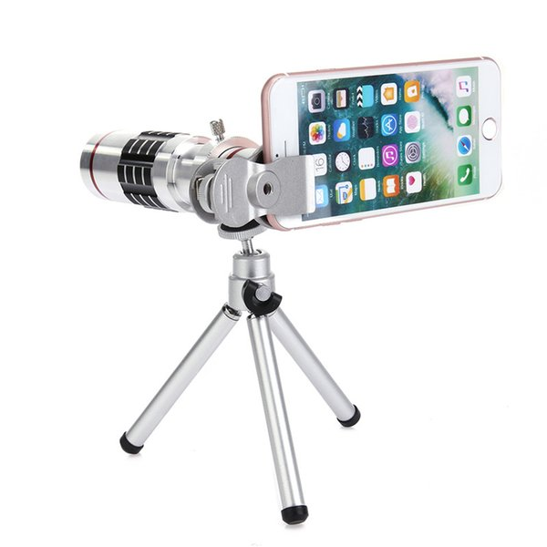 Mobile Phone 18x Telescope Camera Zoom Optical Cellphone Telephoto Lens For for iPhone 6s 7 Sumgung Huawei HTC Oppo Vivo