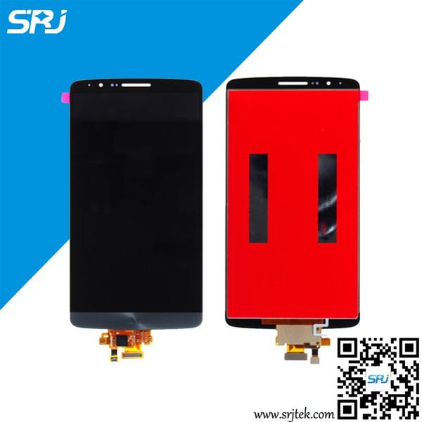 All'ingrosso-Originale 5.5 pollici per LG G3 D855 D850 Display LCD Monitor Touch Screen Digitizer Modulo sensore di vetro Parti Assemblea 100% Test