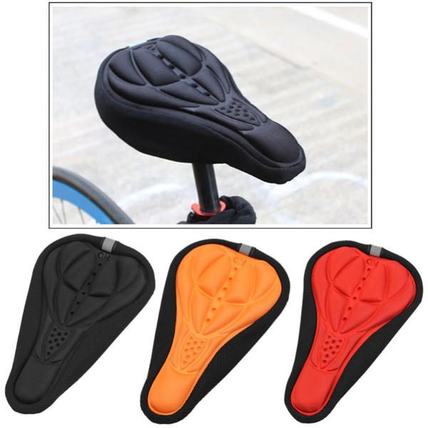 Stylish Cycling Bike Bicycle MTB Silicone Gel Cushion Soft Pad Saddle Seat Cover