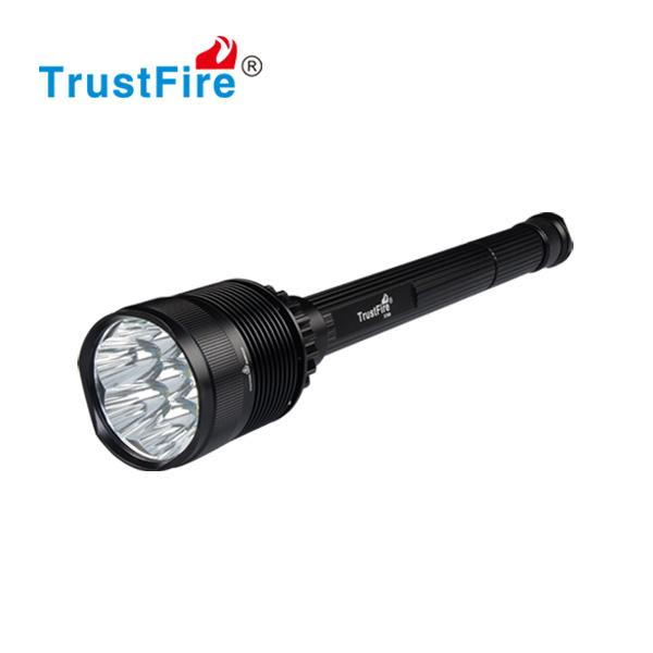 CREE XML-T6 8000LM 7 LED Flashlight Camping Flash Light 26650 Rechargeable Battery Torch Super Bright Higher Power Outdoor Sports Lantern