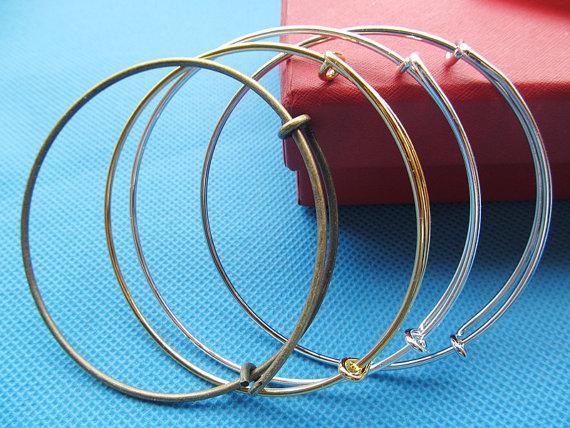 Браслет из высококачественного расширяемого браслета из сплава, регулируемый, сделай сам ювелирных изделий, для бисероплетения и очарования