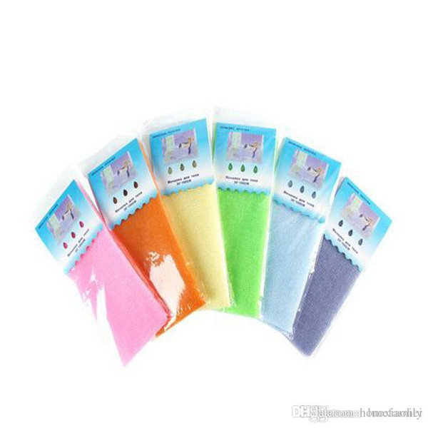 High Quality Novelty Multi Colors Salux Nylon Japanese Exfoliating Beauty Skin Bath Shower Wash Cloth Towel Back Scrubbers