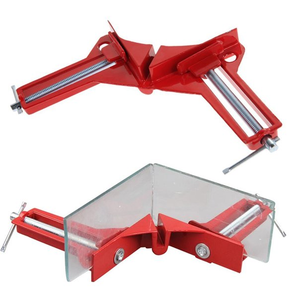 Multifunction New 90 Degree Right Angle Picture Frame Corner Clamp Holder Woodworking Brackets Hand Kit ZH01100