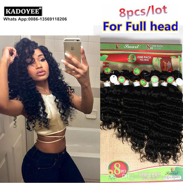 Top grade wholesale price virgin deep curly brazilian hair weaves unprocessed human hair extension loose weave no shedding no tangle