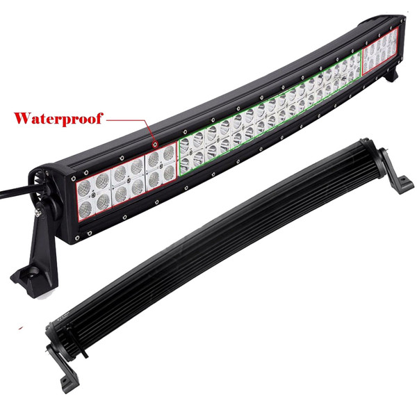 180W 32 Inch Curved LED Work Light Car Light Bar Offroad Driving Lamp Flood Spot Combo Beam Truck SUV Boat Jeep Ford 4WD ATV UTE Tractor