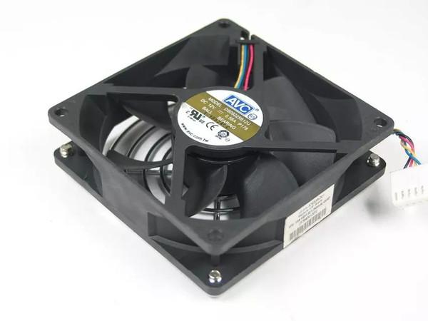 Spedizione gratuita per AVC DS09225B12U, P178 DC 12 V 0.56A 4-pin 4-pin connettore 100mm 90x90x25mm Server Square Ventola di raffreddamento
